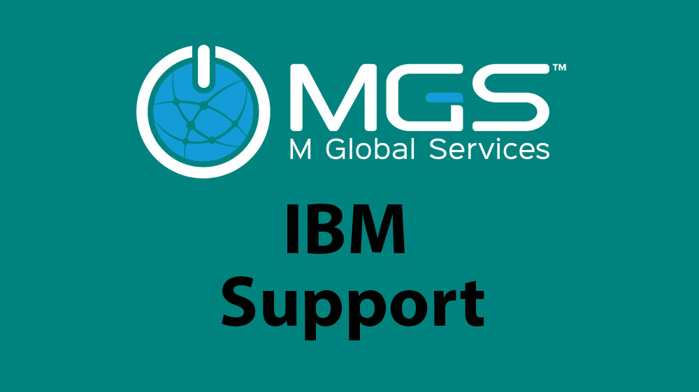 M Global Services - IBM support