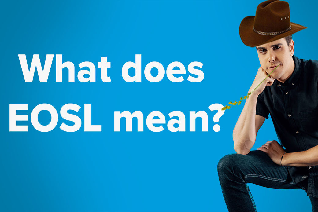 What does EOSL mean? video thumbnail