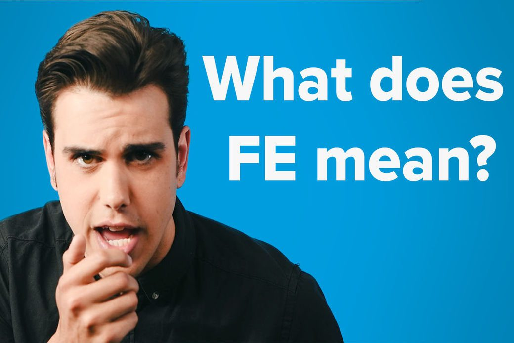 What does FE mean? video thumbnail