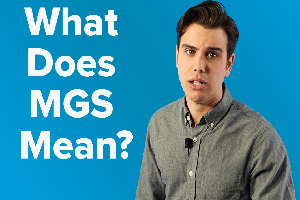 What does MGS mean? video thumbnail