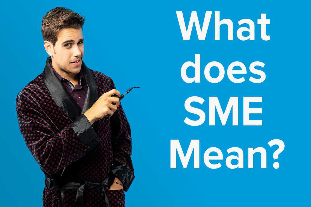 What does SME mean? video thumbnail